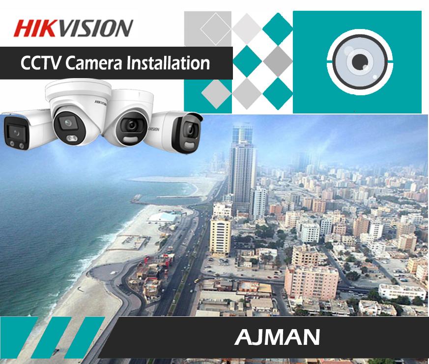 CCTV CAMERA INSTALLATION-AJMAN